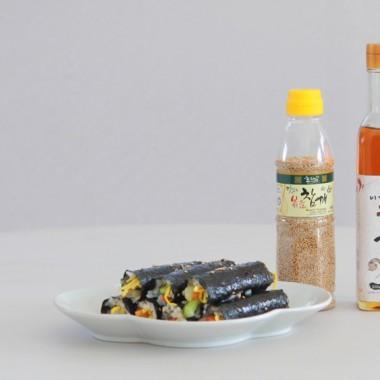 요리 레시피 - 마약김밥