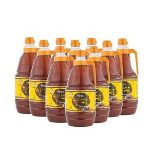 (박스) 맛있는 참고소한기름 1.8리터*10병
